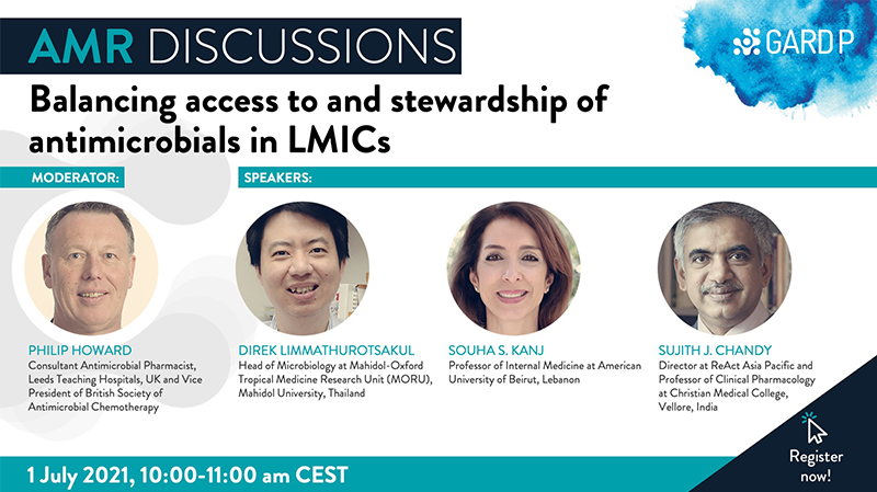 AMR Discussions: Balancing access to and stewardship of antimicrobials in LMICs