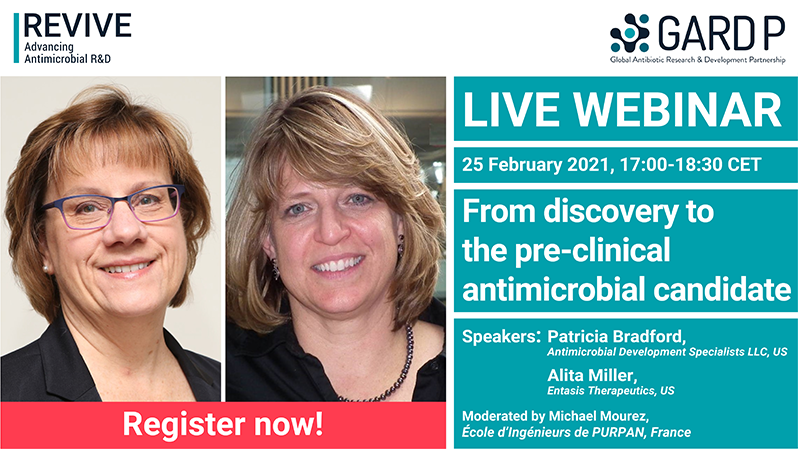 Webinar: From discovery to the pre-clinical antimicrobial candidate