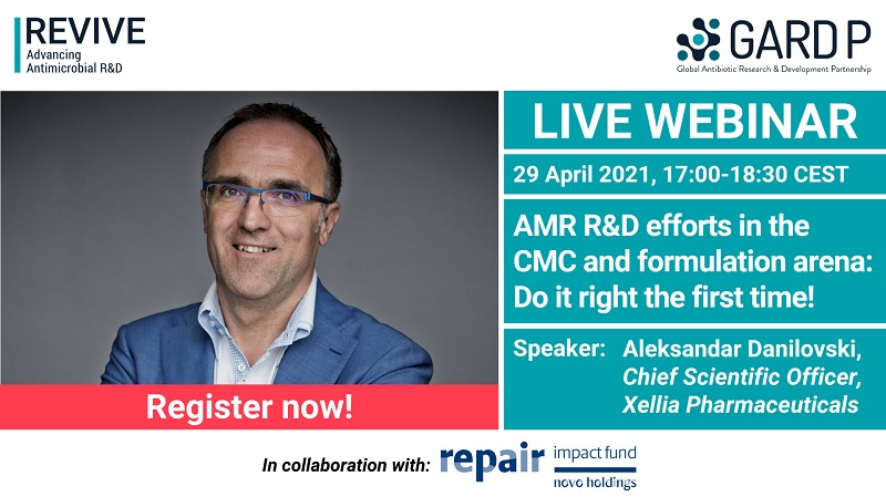 Webinar: AMR R&D efforts in the CMC and formulation arena: Do it right the first time!